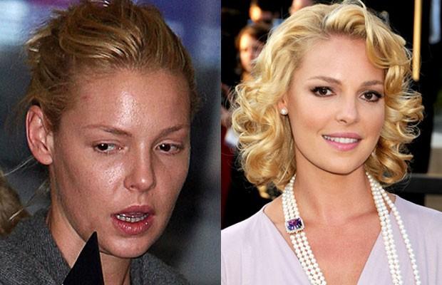 Gương mặt 'đáng sợ' của sao Hollywood khi không trang điểm - ảnh 10