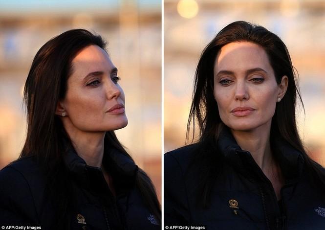 Angelina Jolie giản dị đi từ thiện ở Iraq - ảnh 6