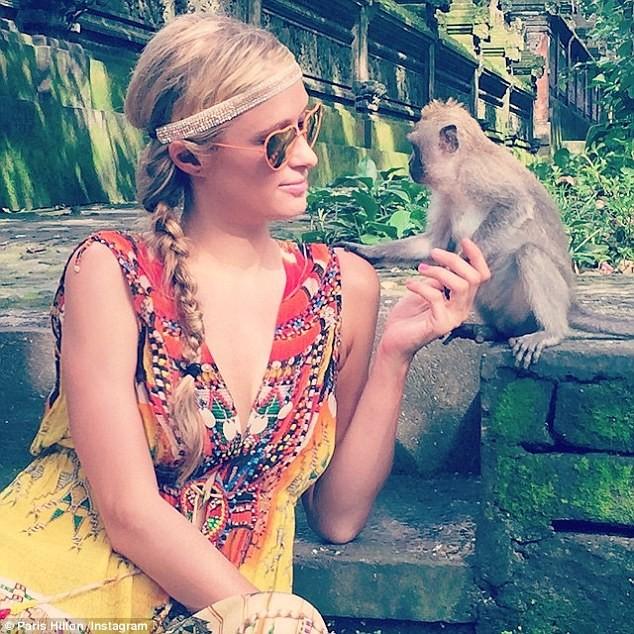 Paris Hilton khoe ảnh đi nghỉ mát đẹp 'mãn nhãn' - ảnh 4
