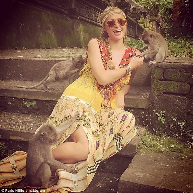 Paris Hilton khoe ảnh đi nghỉ mát đẹp 'mãn nhãn' - ảnh 5
