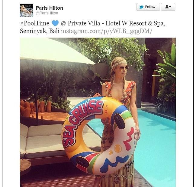 Paris Hilton khoe ảnh đi nghỉ mát đẹp 'mãn nhãn' - ảnh 3
