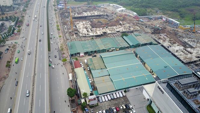 Toàn cảnh 'dự án treo' Nam Dan Plaza trước khi cháy ngùn ngụt - ảnh 1