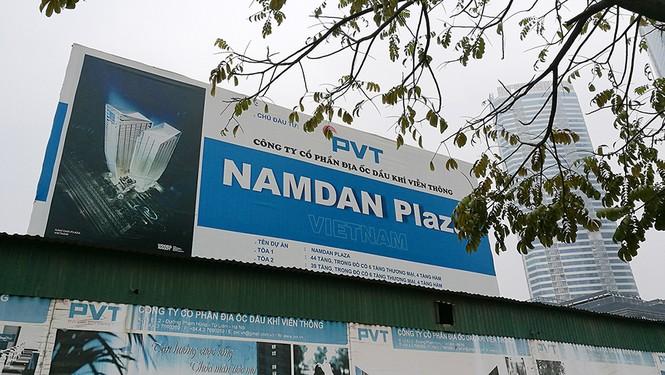 Toàn cảnh 'dự án treo' Nam Dan Plaza trước khi cháy ngùn ngụt - ảnh 2