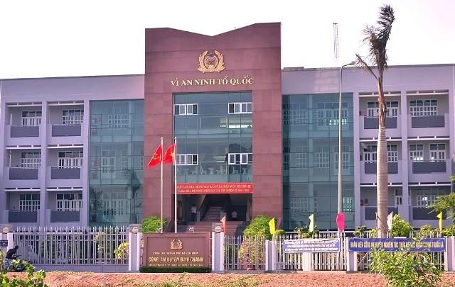 Chủ đất quán Xin Chào đòi lại đất trụ sở công an huyện - ảnh 1