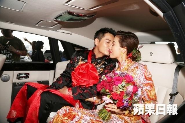 Hoa đán TVB Dương Di đeo vàng trĩu tay trong ngày cưới - ảnh 7