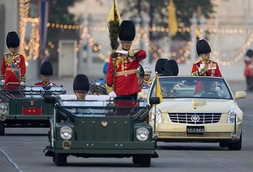 Đội xe của hoàng gia Thái Lan - ảnh 1