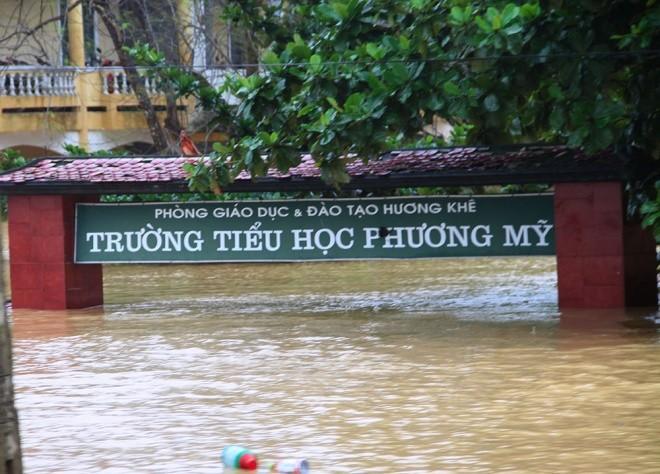 Nghìn người ở Hà Tĩnh chui mái nhà chờ nước rút - ảnh 9