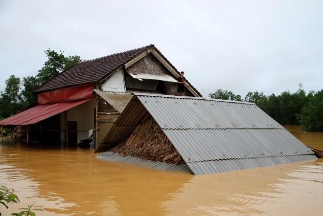 Nghìn người ở Hà Tĩnh chui mái nhà chờ nước rút - ảnh 10