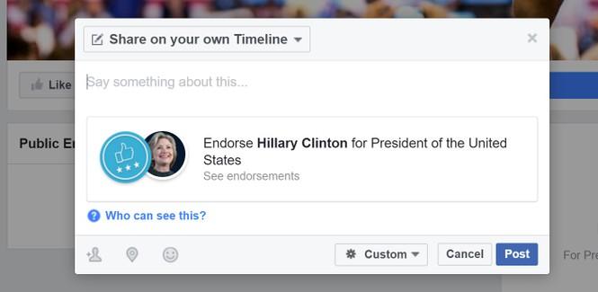 Facebook bổ sung công cụ dành riêng cho bầu cử Tổng thống Mỹ - ảnh 3