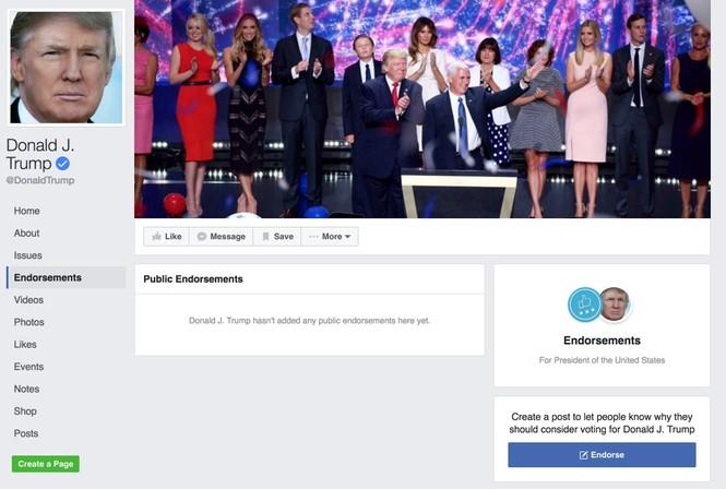 Facebook bổ sung công cụ dành riêng cho bầu cử Tổng thống Mỹ - ảnh 1