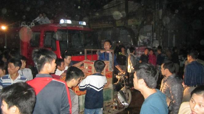 Cháy lớn ở điểm công nghiệp xã La Phù - ảnh 2