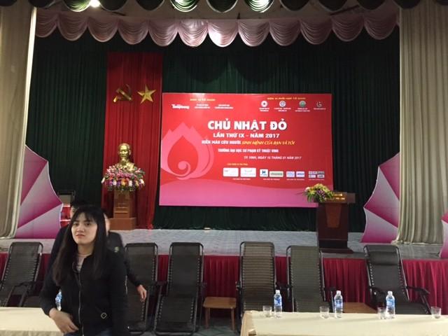 """""""Giọt hồng chào xuân"""" tại Nghệ An trước giờ G - ảnh 3"""