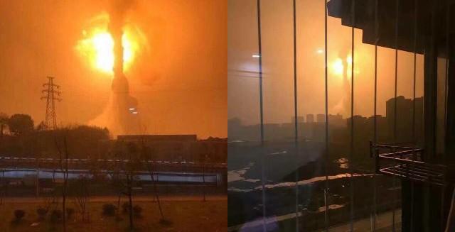 Nhà máy hóa chất nổ như bom, khói lửa bốc cao ngút trời - ảnh 1
