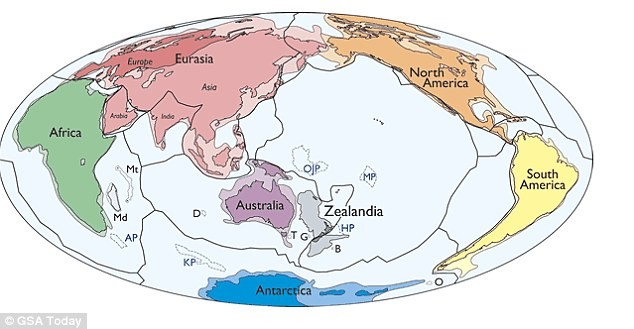 Phát hiện lục địa mới 'nhỏ nhất, trẻ nhất, mỏng nhất' thế giới - ảnh 2