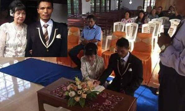 Chàng trai 28 tuổi bất chấp tất cả để cưới cụ bà 82 - ảnh 2