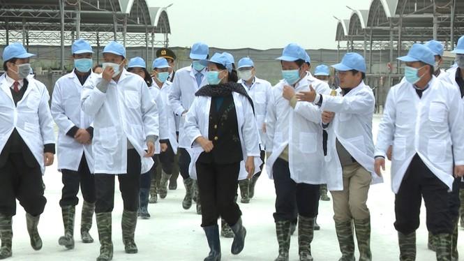 Chủ tịch Quốc hội Nguyễn Thị Kim Ngân làm việc với DN ở Thái Bình - ảnh 4