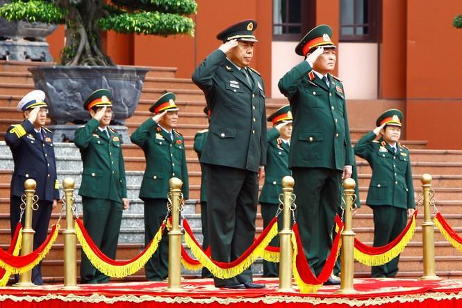 Hội đàm quân sự cấp cao Việt - Trung - ảnh 1