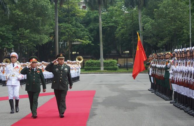 Hội đàm quân sự cấp cao Việt - Trung - ảnh 2