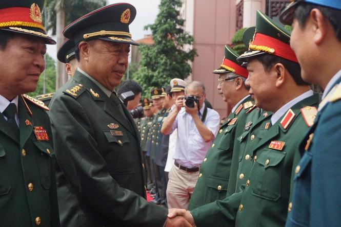 Hội đàm quân sự cấp cao Việt - Trung - ảnh 3