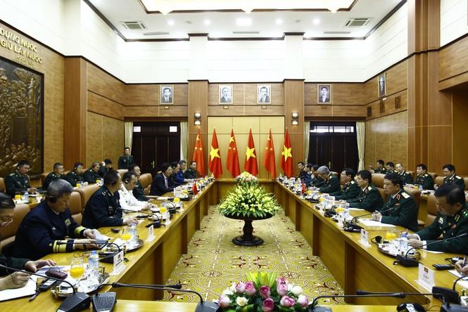 Hội đàm quân sự cấp cao Việt - Trung - ảnh 5