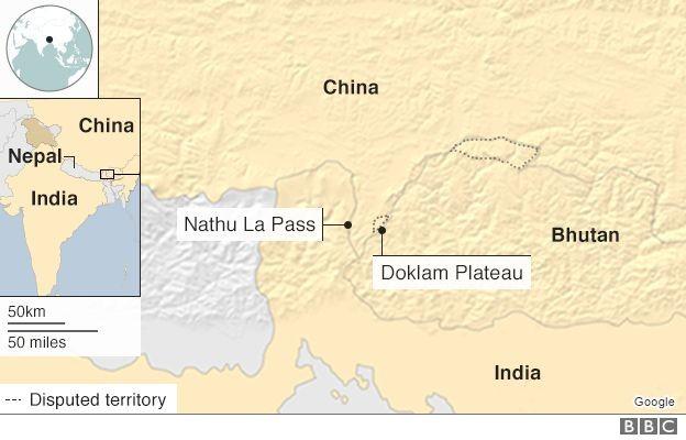 Binh lính Ấn Độ - Trung Quốc ẩu đả ở biên giới - ảnh 1