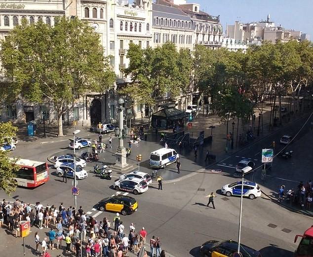 Tây Ban Nha: Xe tải đâm hàng chục người đi bộ, nghi khủng bố - ảnh 1