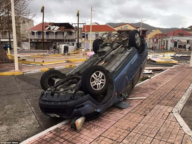 Siêu bão Irma tàn phá các đảo ở Caribe - ảnh 1