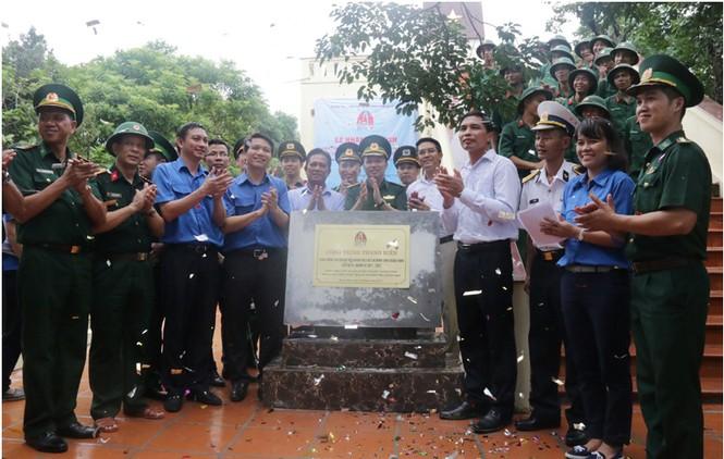 Thêm công trình khẳng định chủ quyền Tổ quốc tại đảo Trần, Cô Tô - ảnh 1