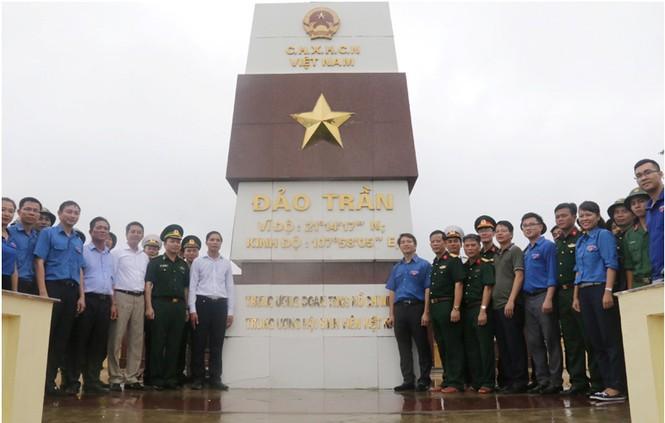 Thêm công trình khẳng định chủ quyền Tổ quốc tại đảo Trần, Cô Tô - ảnh 3