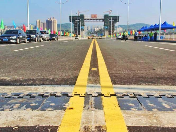 Khánh thành cầu Bắc Luân II nối Việt Nam-Trung Quốc - ảnh 1