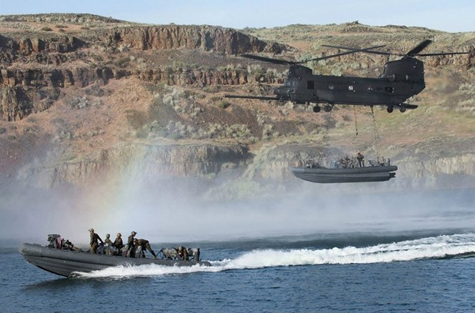 Mục kích lính thủy đánh bộ Mỹ 'huấn luyện địa ngục' - ảnh 13
