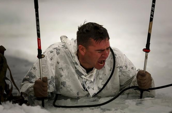 Mục kích lính thủy đánh bộ Mỹ 'huấn luyện địa ngục' - ảnh 1