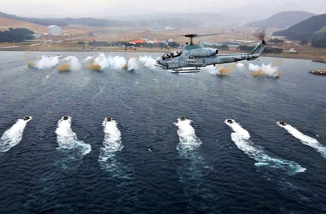 Mục kích lính thủy đánh bộ Mỹ 'huấn luyện địa ngục' - ảnh 5