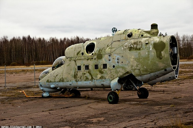 Lạc bước vào 'nghĩa địa' trực thăng quân sự Nga - ảnh 3