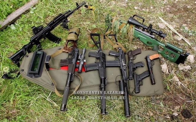 Cảnh sát đặc nhiệm Nga dùng súng lục phương Tây - ảnh 8