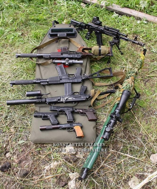 Cảnh sát đặc nhiệm Nga dùng súng lục phương Tây - ảnh 9