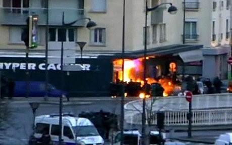 Đặc nhiệm Pháp tiêu diệt hai kẻ thảm sát tòa báo - ảnh 1