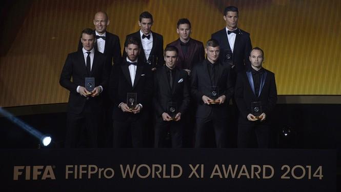 Giành Quả bóng vàng FIFA 2014, Ronaldo nói gì? - ảnh 6