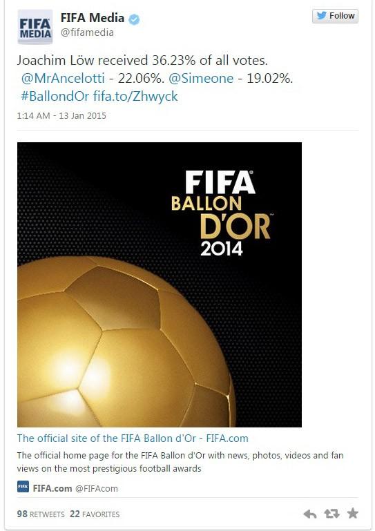 Giành Quả bóng vàng FIFA 2014, Ronaldo nói gì? - ảnh 2
