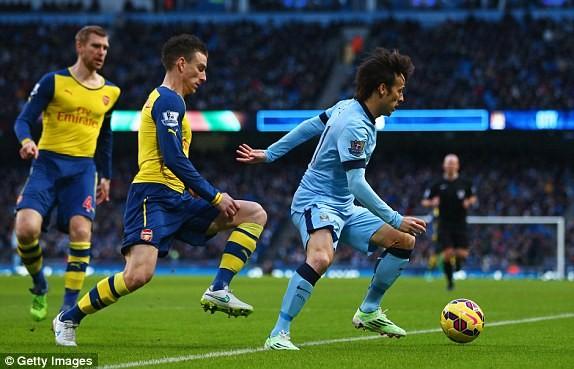 Man City-Arsenal (0-2): Kéo sập Etihad - ảnh 10