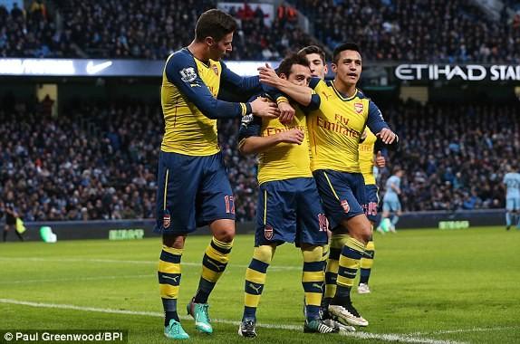Man City-Arsenal (0-2): Kéo sập Etihad - ảnh 8