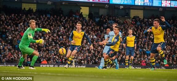 Man City-Arsenal (0-2): Kéo sập Etihad - ảnh 3