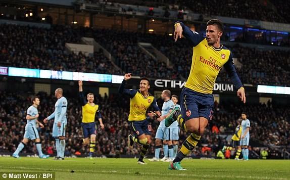 Man City-Arsenal (0-2): Kéo sập Etihad - ảnh 5