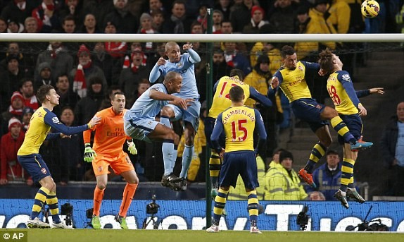 Man City-Arsenal (0-2): Kéo sập Etihad - ảnh 6