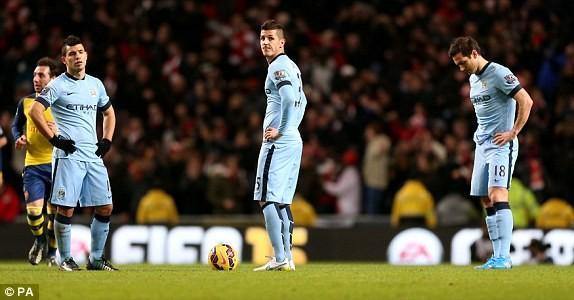 Man City-Arsenal (0-2): Kéo sập Etihad - ảnh 1