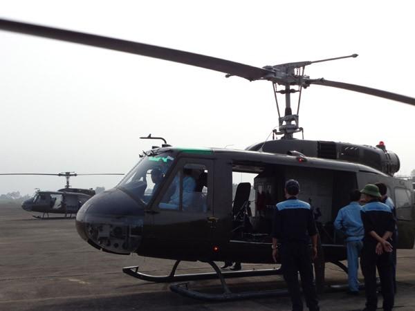 Trực thăng rơi ở TP.HCM, 4 sĩ quan hy sinh - ảnh 11