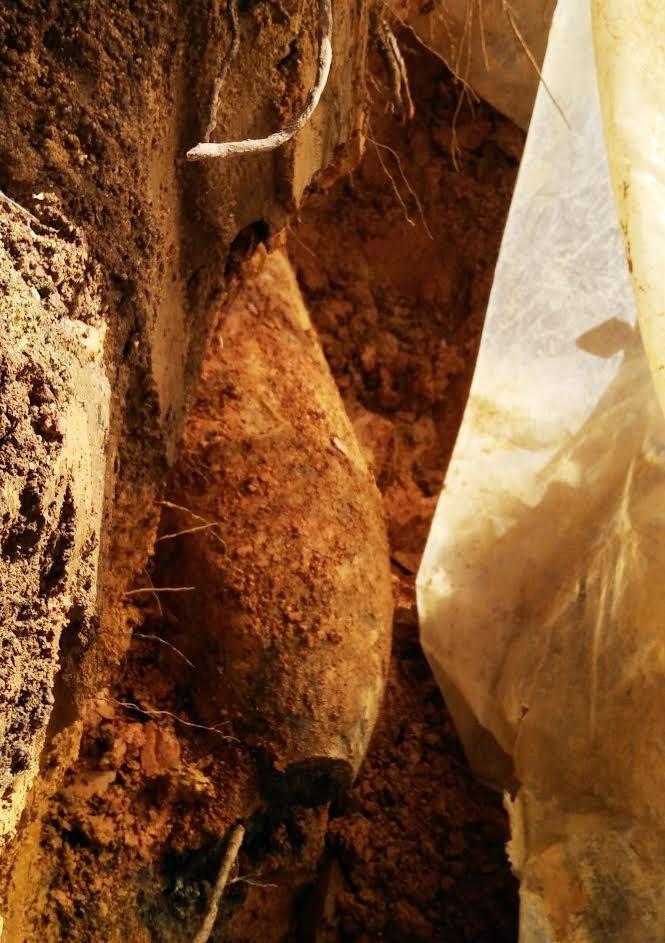Phát hiện quả bom 'khủng', nặng hàng trăm kg tại Đà Lạt - ảnh 1