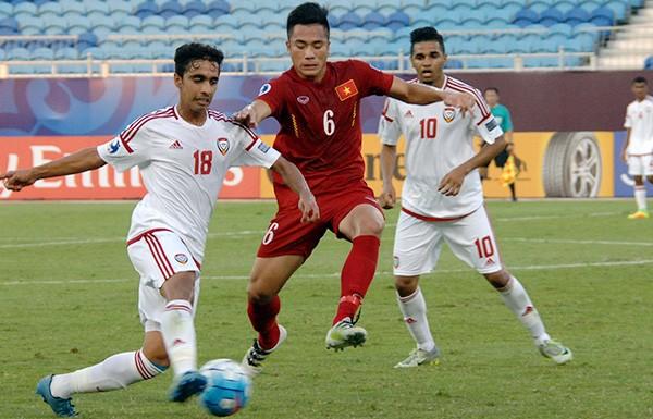 U19 Việt Nam chia điểm với UAE trong thế thiệt quân - ảnh 7