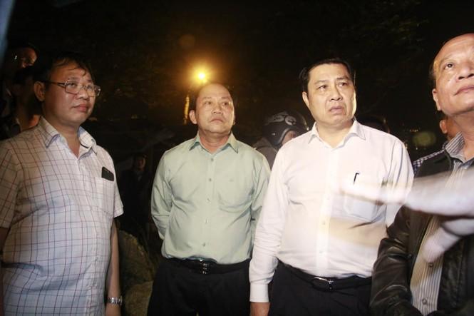 Kinh hãi với hiện trường vụ sập giàn giáo tòa nhà ở Đà Nẵng - ảnh 8