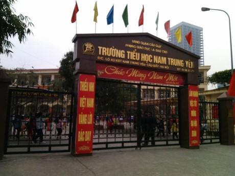 Yêu cầu cách chức Hiệu trưởng, Hiệu phó trường tiểu học Nam Trung Yên - ảnh 1